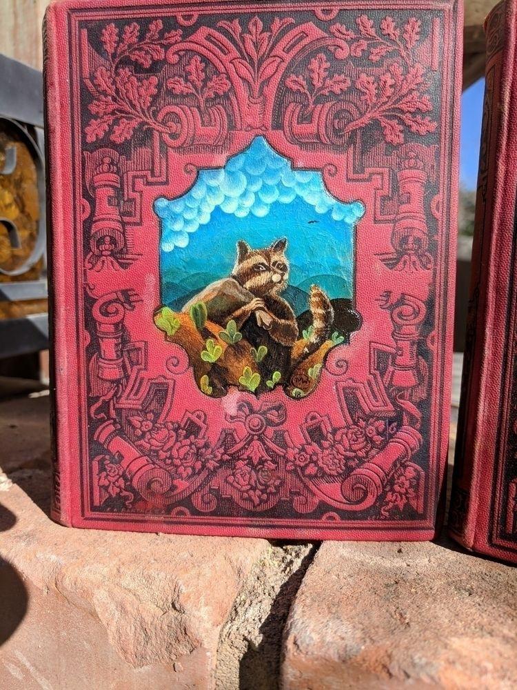 Night Thief, oil book cover - myklwells - myklwells | ello