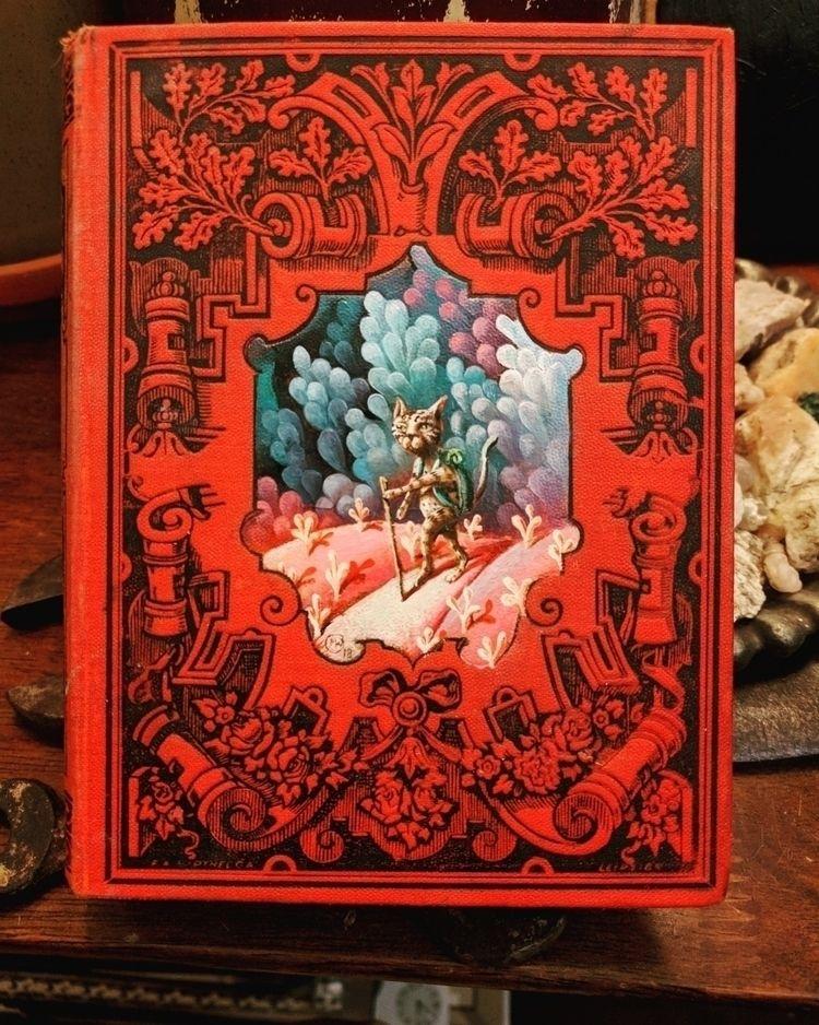 oil book cover - myklwells, myklwellsarts - myklwells | ello