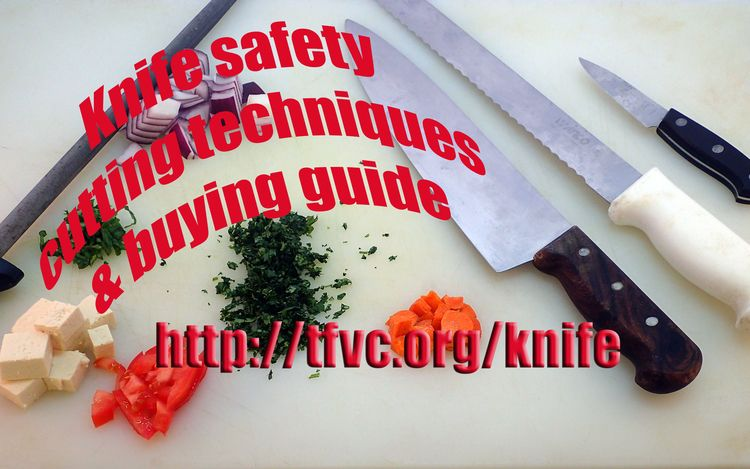 Today bringing show knife safet - thefatveganchef | ello