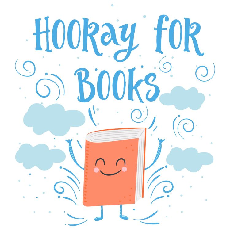 """Hooray Books!"" fun graphic wee - littlebunnysunshine | ello"