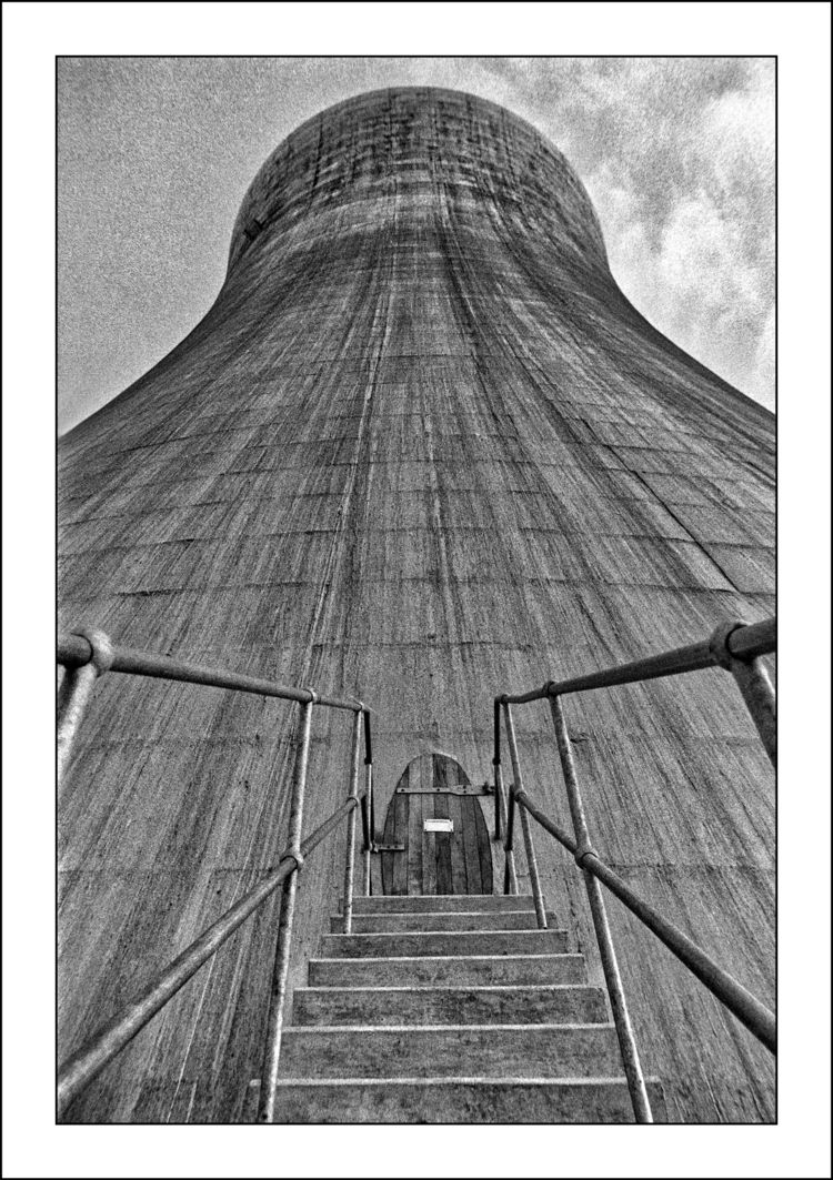 Cooling Tower - vintagephotography - alan0747 | ello