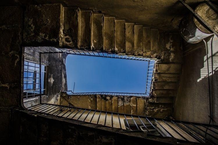 ladder, photo, surrealism, mexico - irudox | ello