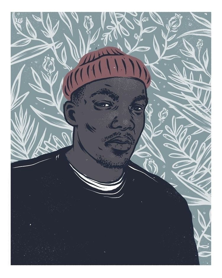 Jacob Banks Portrait, digital - illustration - dudeitsallama | ello