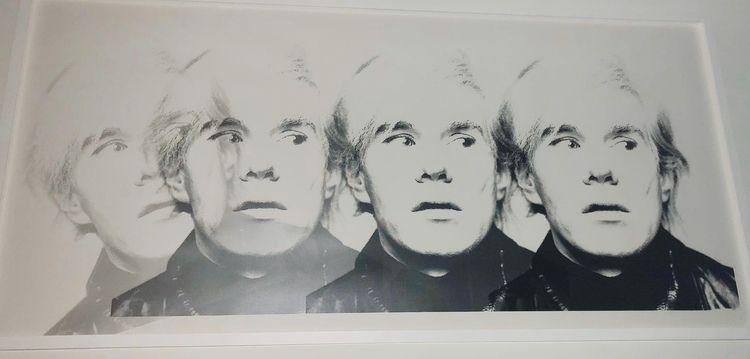 Andy Warhol silkscreen overlay  - michibroussard | ello