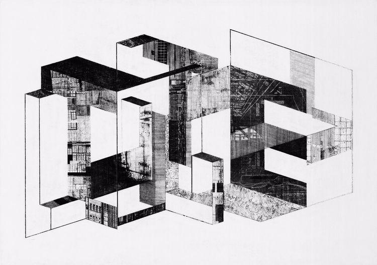 aquaforte (drawing etched) /70c - _axl | ello