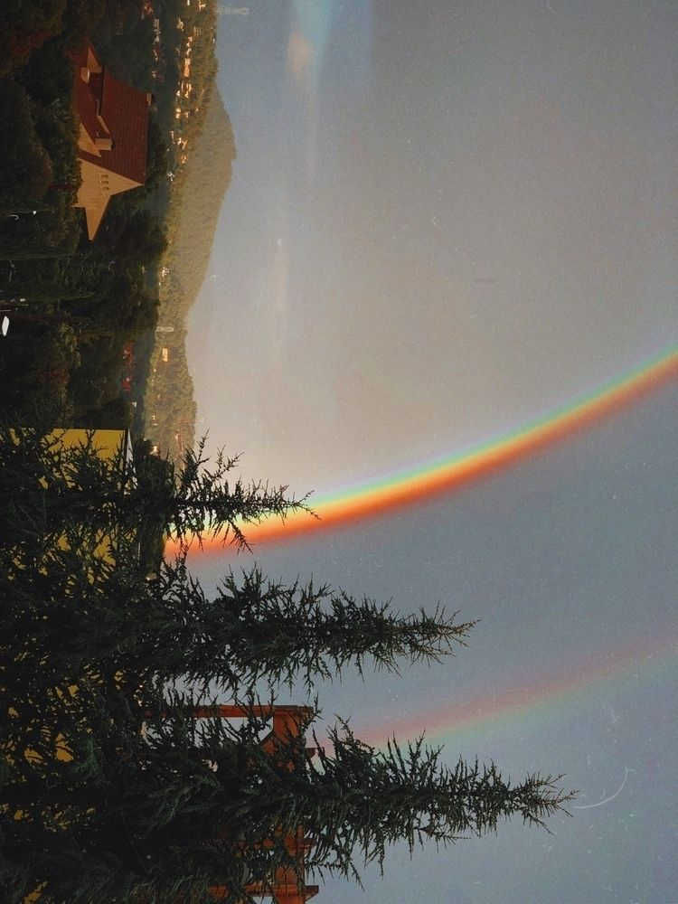 art, photography, rainbow, colors - norikosykess | ello