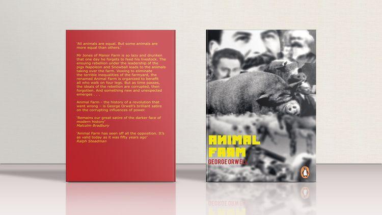 AnimalFarm, Book, GeorgeOrwell - inezfranken | ello