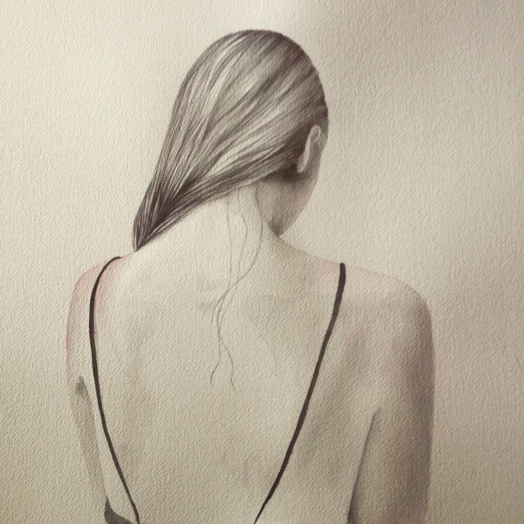 Watercolor, art, illustration - carmennavarro | ello