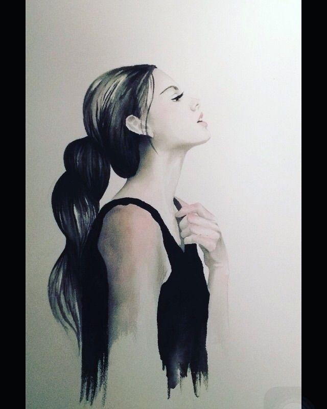 womens black collection - watercolor - carmennavarro | ello