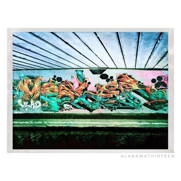 bridge | 030418 - spraypaint, spraypaintart - alabamathirteen | ello