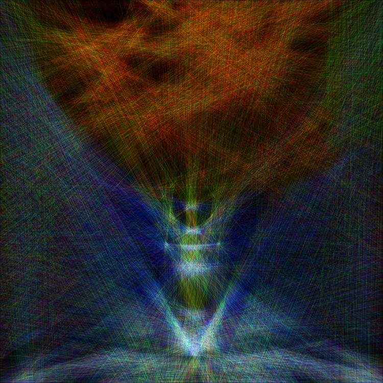 Glowing line art experiment - 3D - z3rogravity | ello