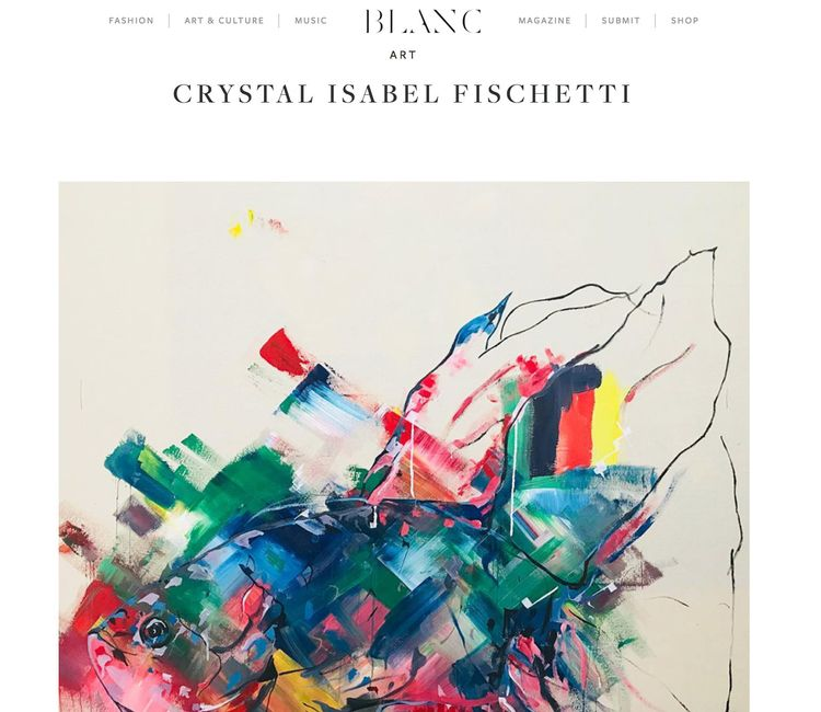 Published Blanc Magazine... fee - crystalfischetti | ello