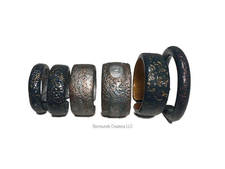 bracelet cuffs texture designs - stormwindshq | ello