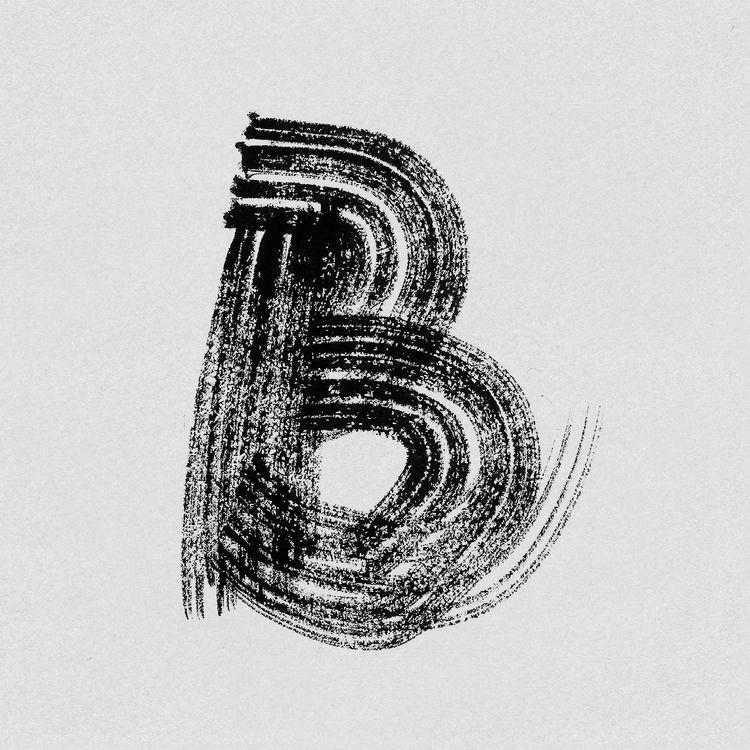 Brush - 36days_b, 36daysoftype, 36daysoftype05 - llanwafu | ello
