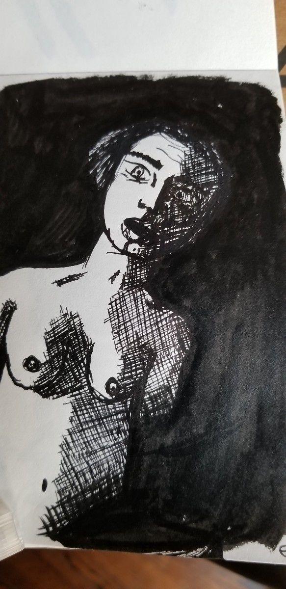 doodle, sketch, sketchbook, ink - ebo_draws   ello