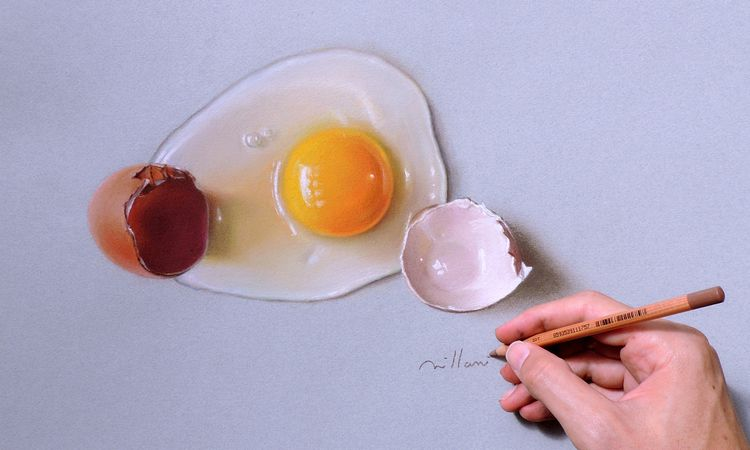 Egg - Desenho realista Millani - fabianomillani | ello