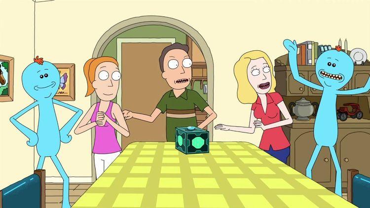 Meeseeks   Rick Morty - feliphe   ello