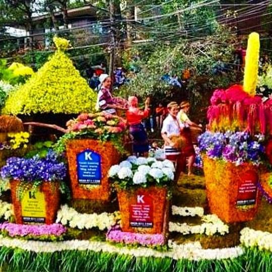 Float fresh flowers Baguio City - vicsimon | ello