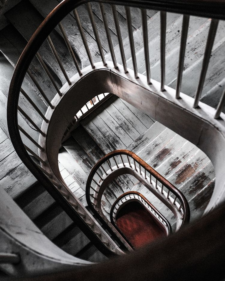 Warm - fuji, photography, staircase - almegaard | ello