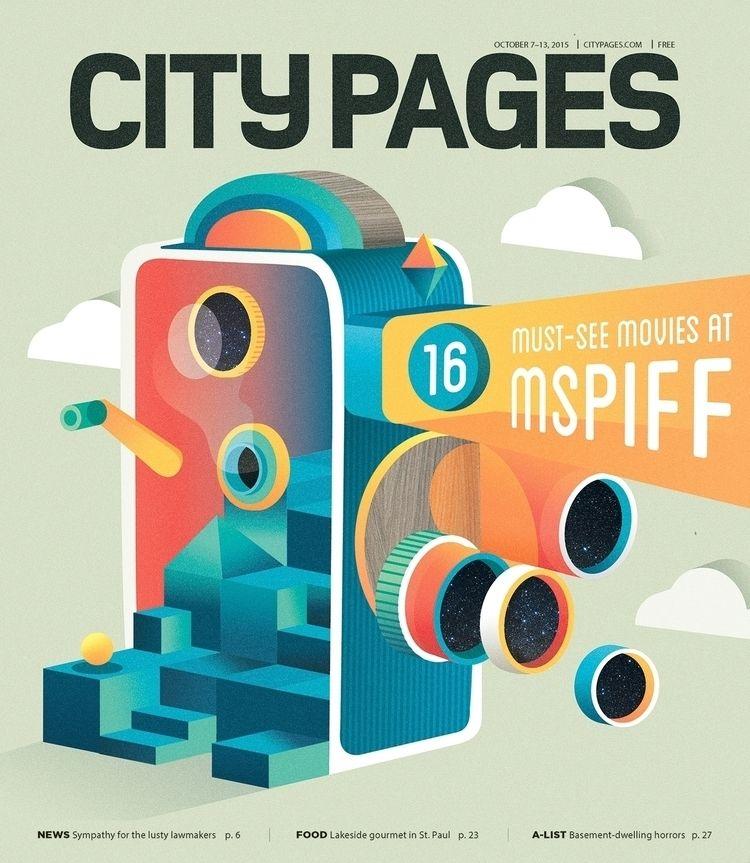 City Pages cover occasion Minne - casmiclab | ello