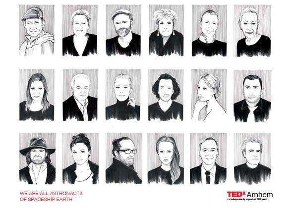 Branding TedX Arnhem Netherland - marcelopwerk | ello