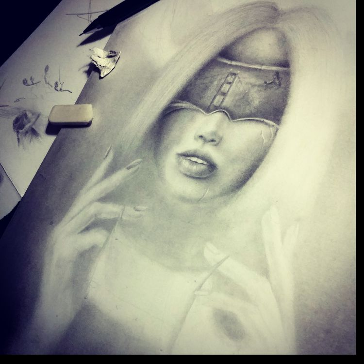 Work progress - artist, drawing - nobertstanel | ello