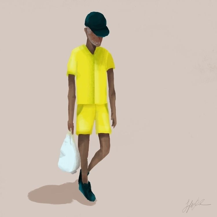 neon outfit brought attention - 100dayproject - jenifferrivera | ello