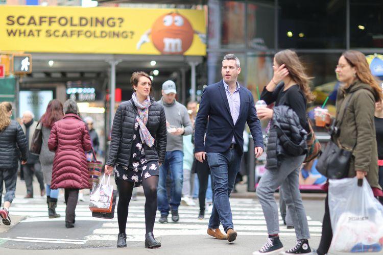 Broadway 48th People Street, Ti - kevinrubin | ello