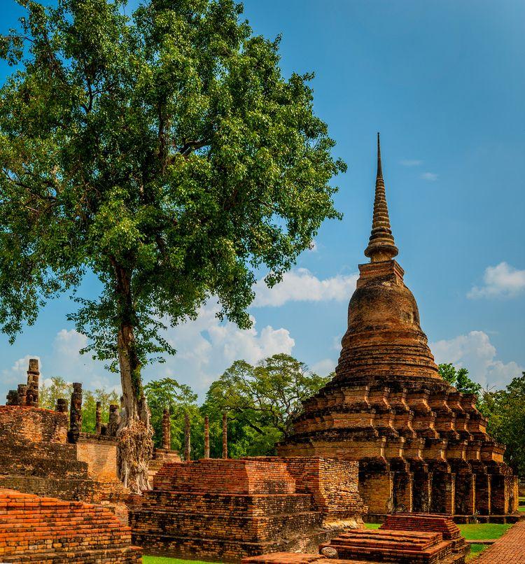 urban landscape City Sukhothai - christofkessemeier | ello