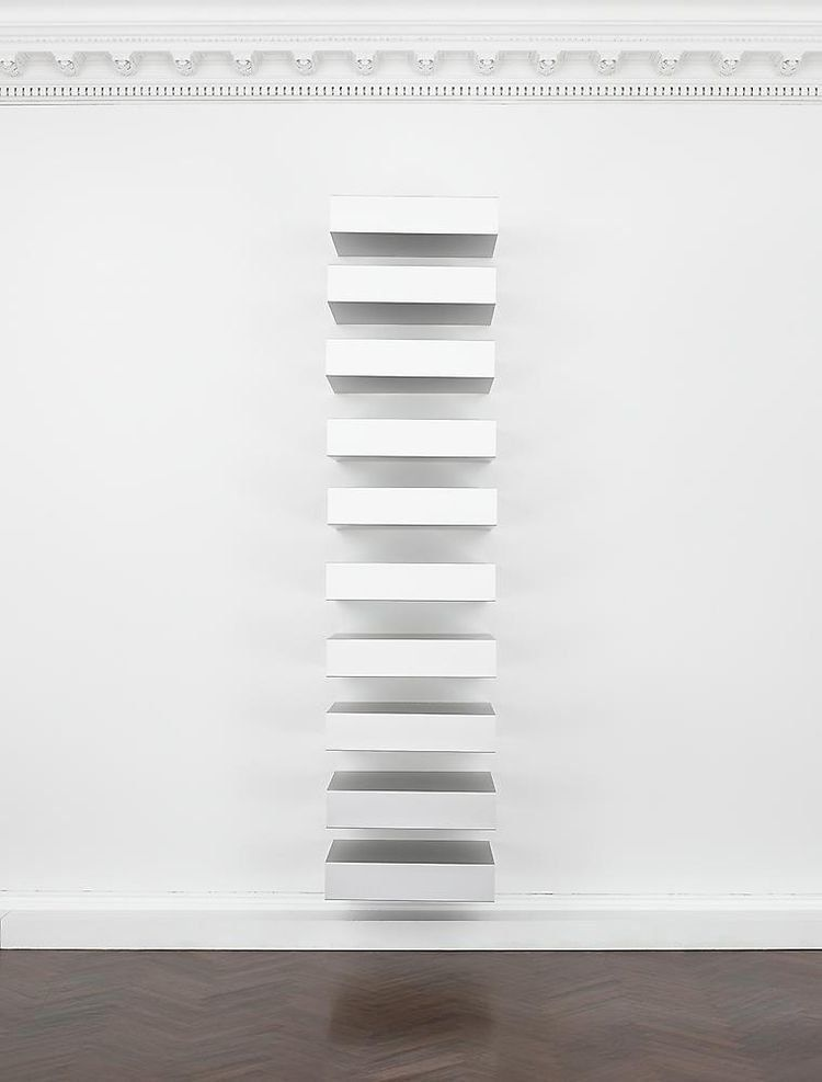 archive - donald judd - bluevertical | ello