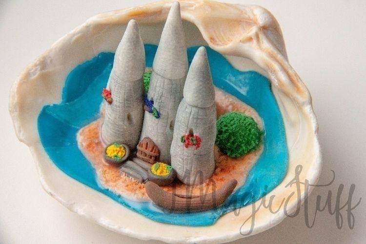 Fairytale Castle Miniature seas - i_magicstuff | ello