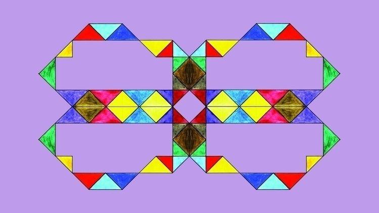 Reflective Triagles Light Purpl - istvanocztos | ello