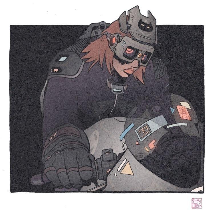 Cyber Hunter illustration 1/3 - 1sles | ello