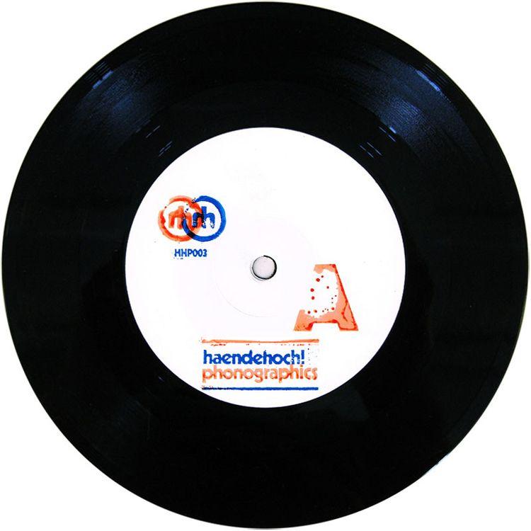 HHP003 side, hand stamped. 100  - daan_haendehoch | ello