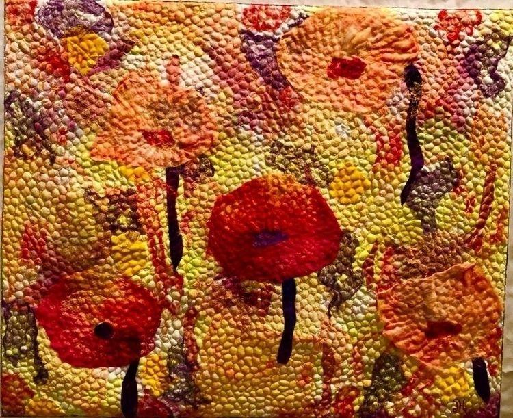 Poppies Jane Hartfield Artist F - artizanmade | ello