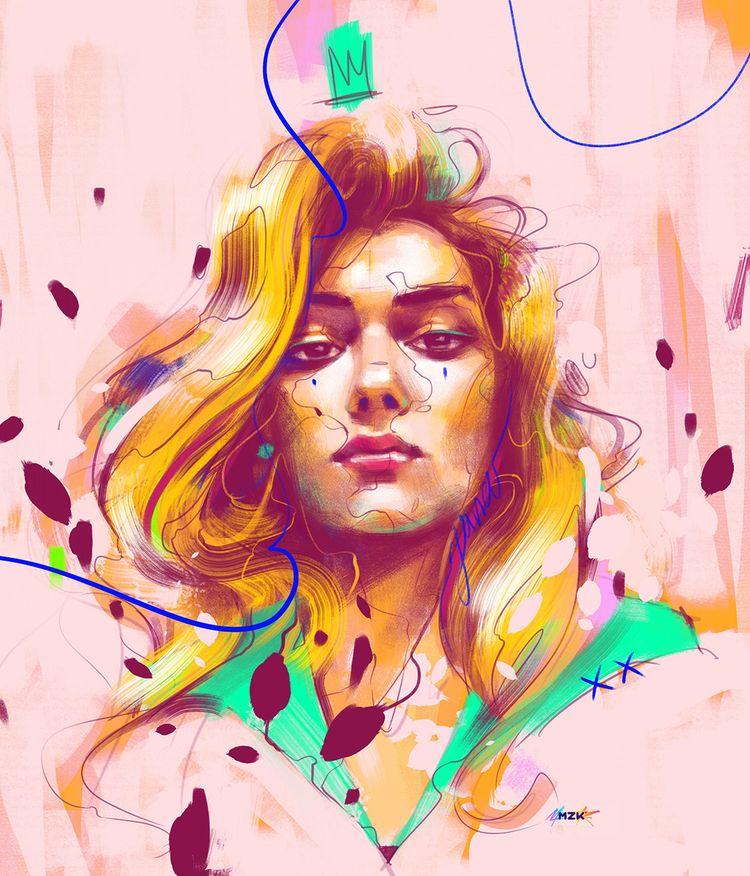 Portrait Yana Lalova — Submitte - mzkmzk | ello