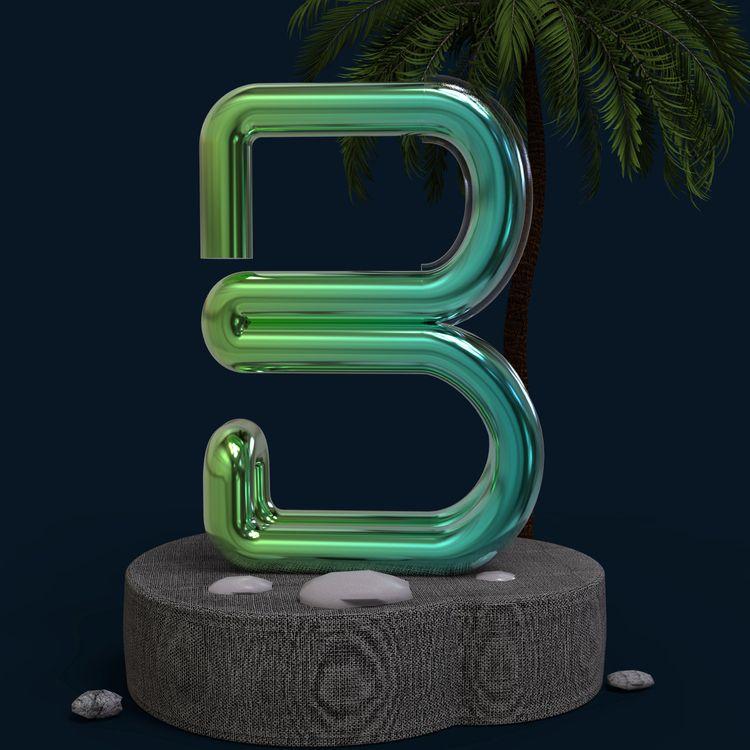 LETTER - 36daysoftype, 36days_b - thefakedot | ello