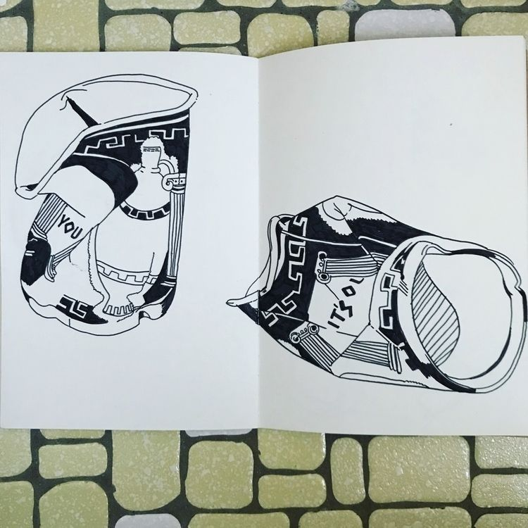 Bodega coffee cups - sketchbook - rymie | ello