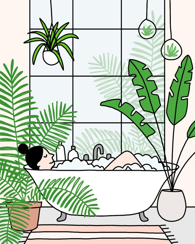 Dream bathroom Day 10  - 30daysofplants - ashleighgreen | ello