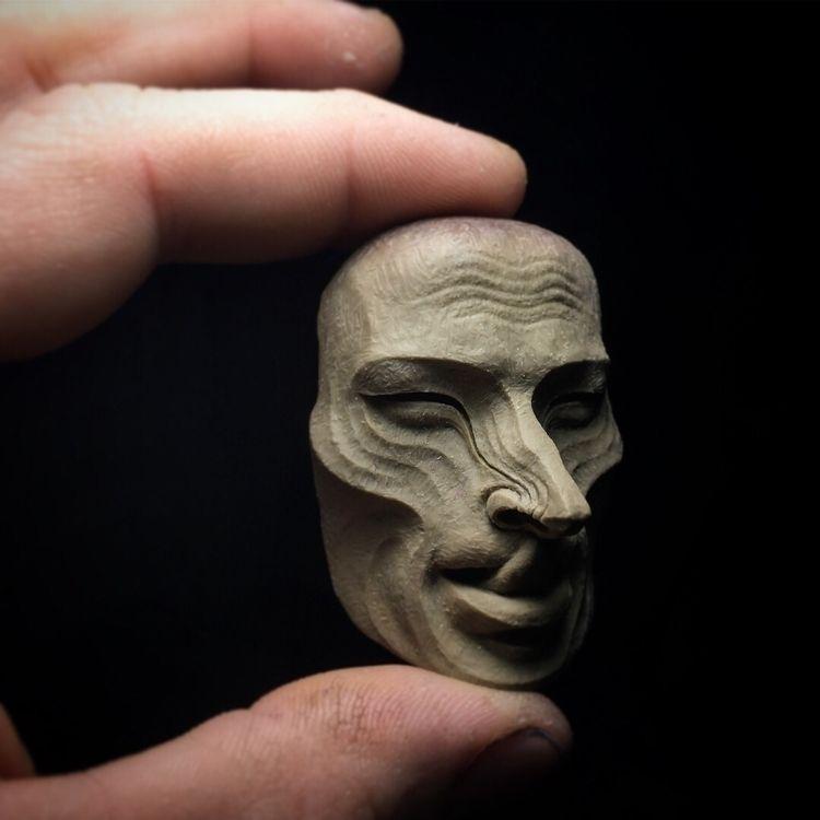 tiny mask couple weeks - primitive - romain_vandenbogaert | ello