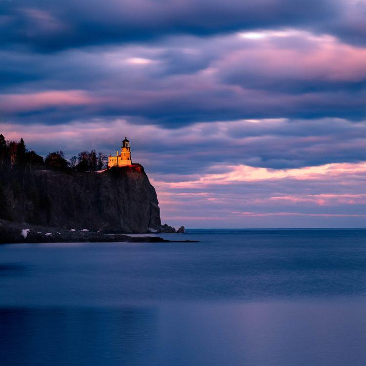light day strikes Split Rock Li - toddhphoto   ello