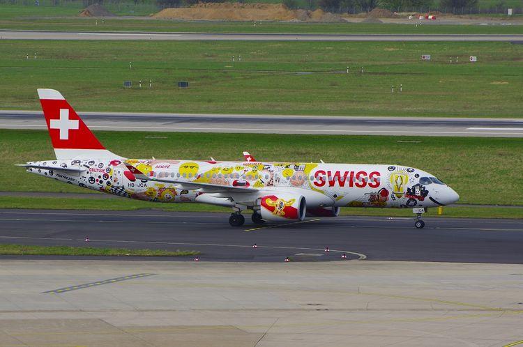 Swiss CS-300, HB-JCA, Düsseldor - brummi | ello