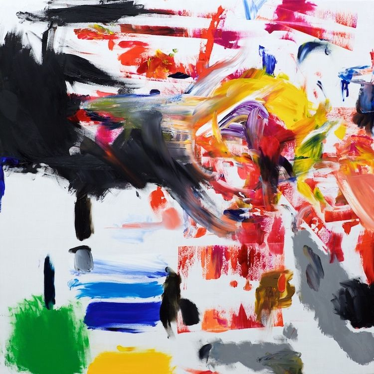painting: Invincible (Oil wood  - dirkmarwig | ello