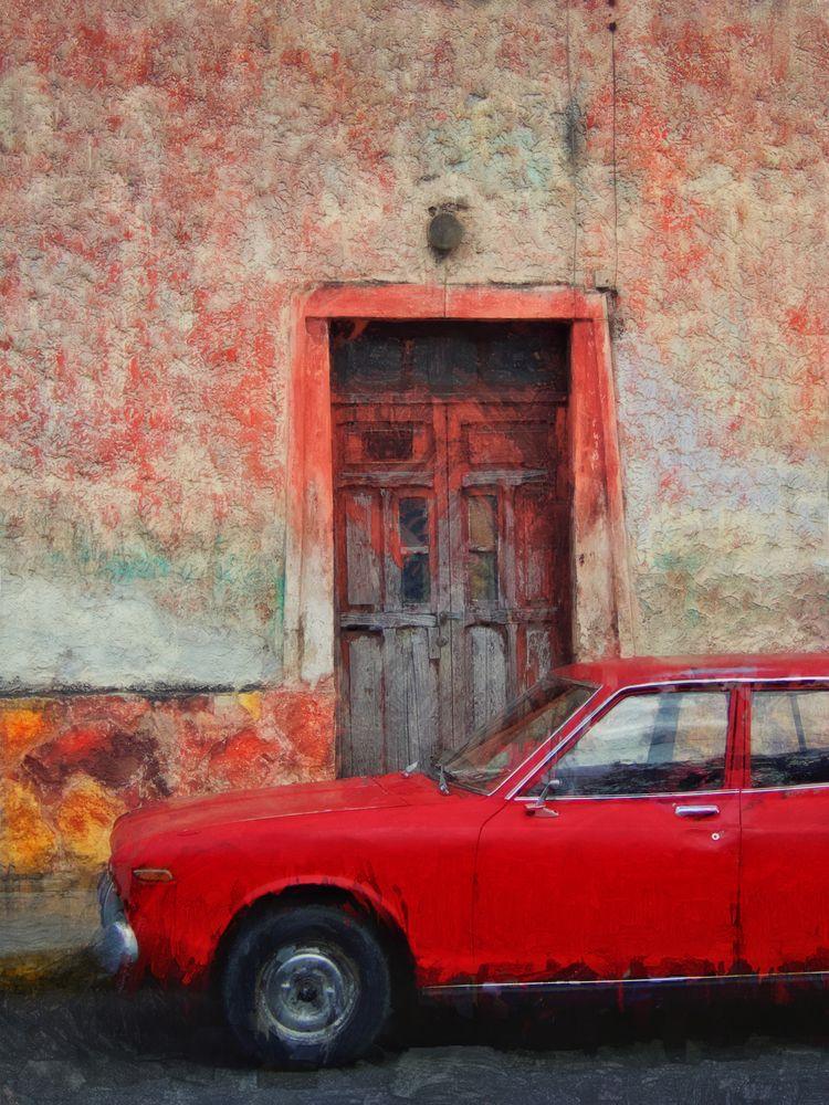Red Rider Digital painting mixe - skiphunt   ello
