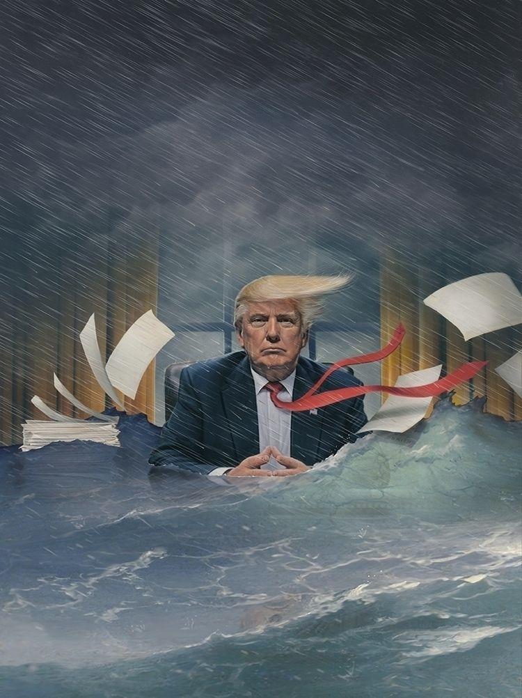 'Stormy' cover art Time Magazin - timobrien | ello