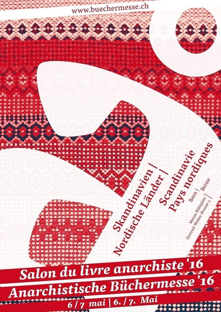 016 - plakat, anarchist, bookfair - _ttf | ello