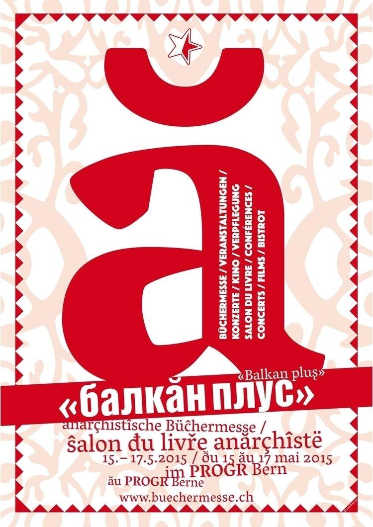 015 - plakat, anarchist, bookfair - _ttf | ello