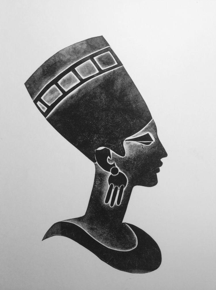 Cleopatra Engraving cardboard 3 - maler_malyar | ello