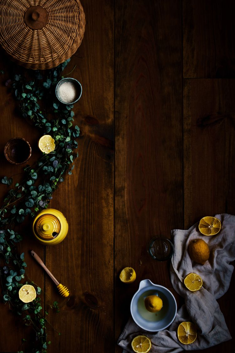 Flat Lay Lemons  - photography, pic - biteoflight | ello