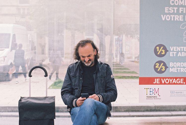 argentique, 35mm, portrait, color - zoui   ello